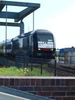 br-223-er-20/33925/siemens-er-20-014-oder-223-014-3 Siemens ER 20-014 oder 223 014-3 bei der Überquerung der Hubbrücke in Husum. 2009